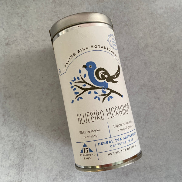 Tea Tin - Bluebird Morning