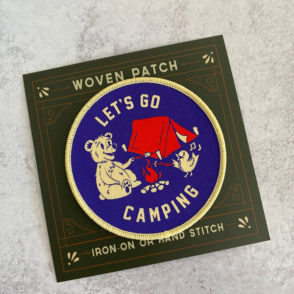 Patch - Let's Go Camping