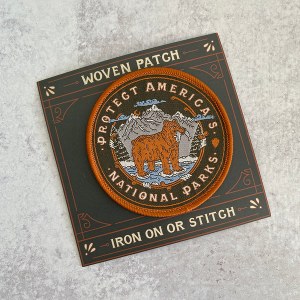Patch - Protect National Parks