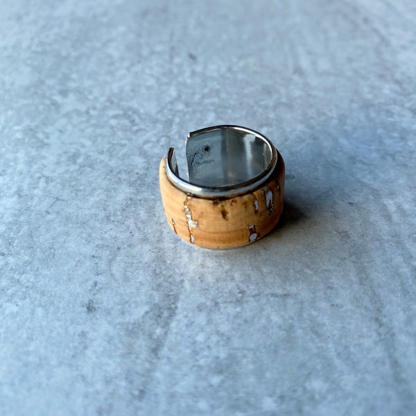 The Cork - Silver Plated Ring