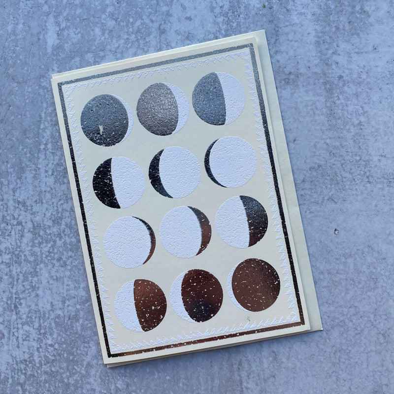 Moon Phases Card