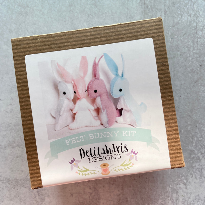 Sewing Kit: Felt Bunnies