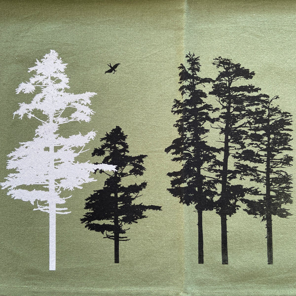 Tea Towel Hemlock