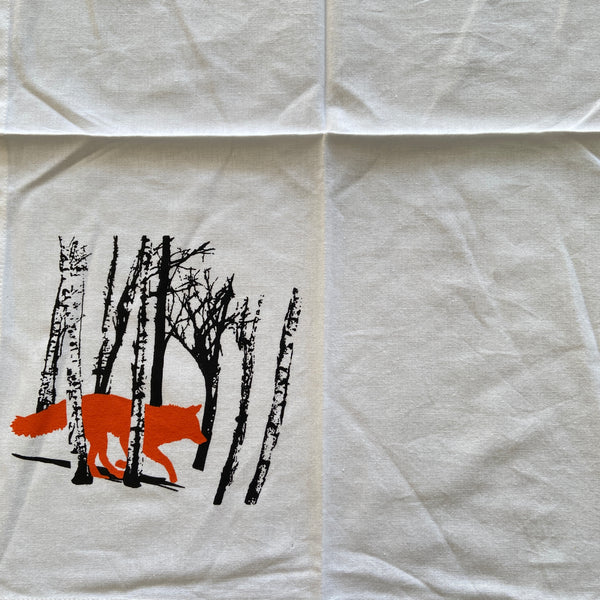 Tea Towel Fox