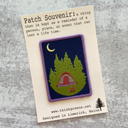 Patch - Camping under the Moon