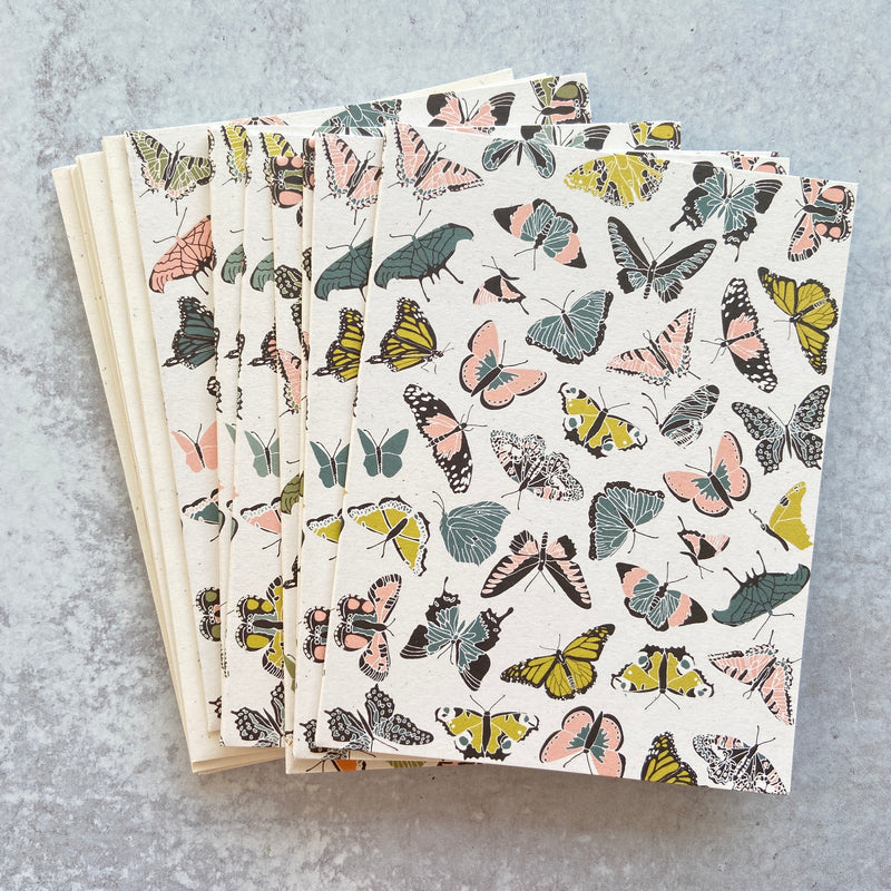 Butterfly Kisses Cards Set