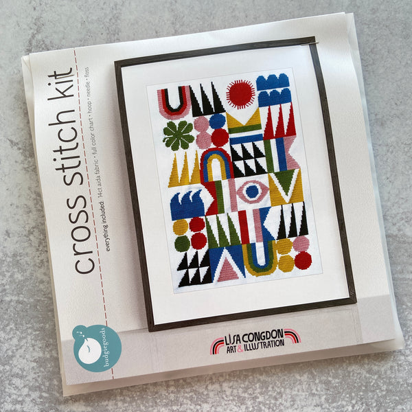 Cross Stitch Kit: Brightside