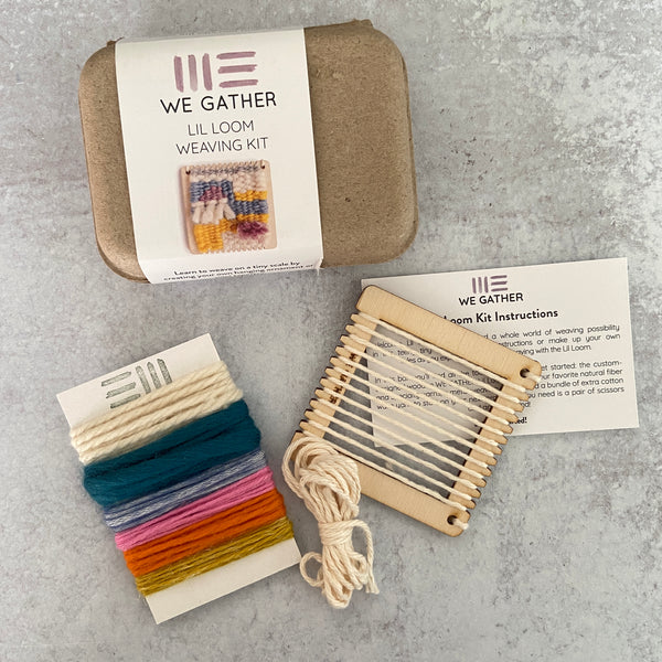 Lil Loom Weaving Kit
