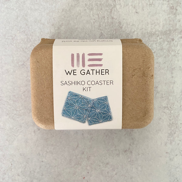 Sashiko Coaster Kit