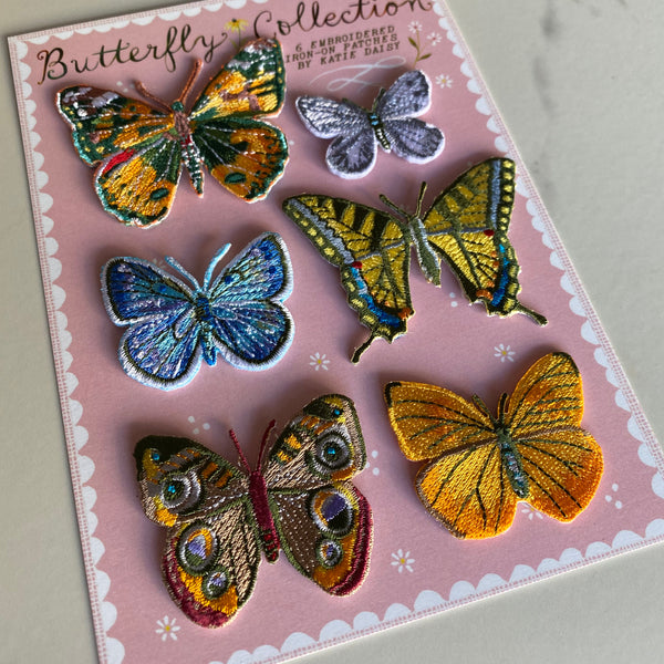 Butterfly Collection Patch Set