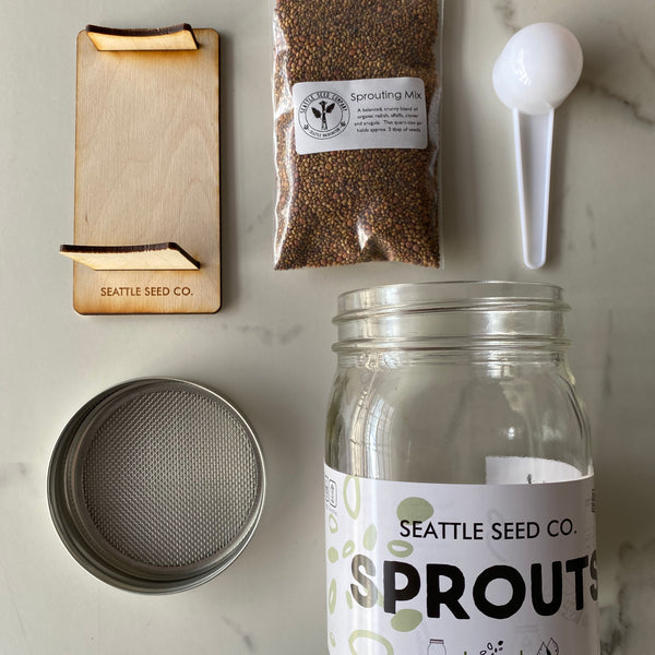 Sprouting Starter Kit