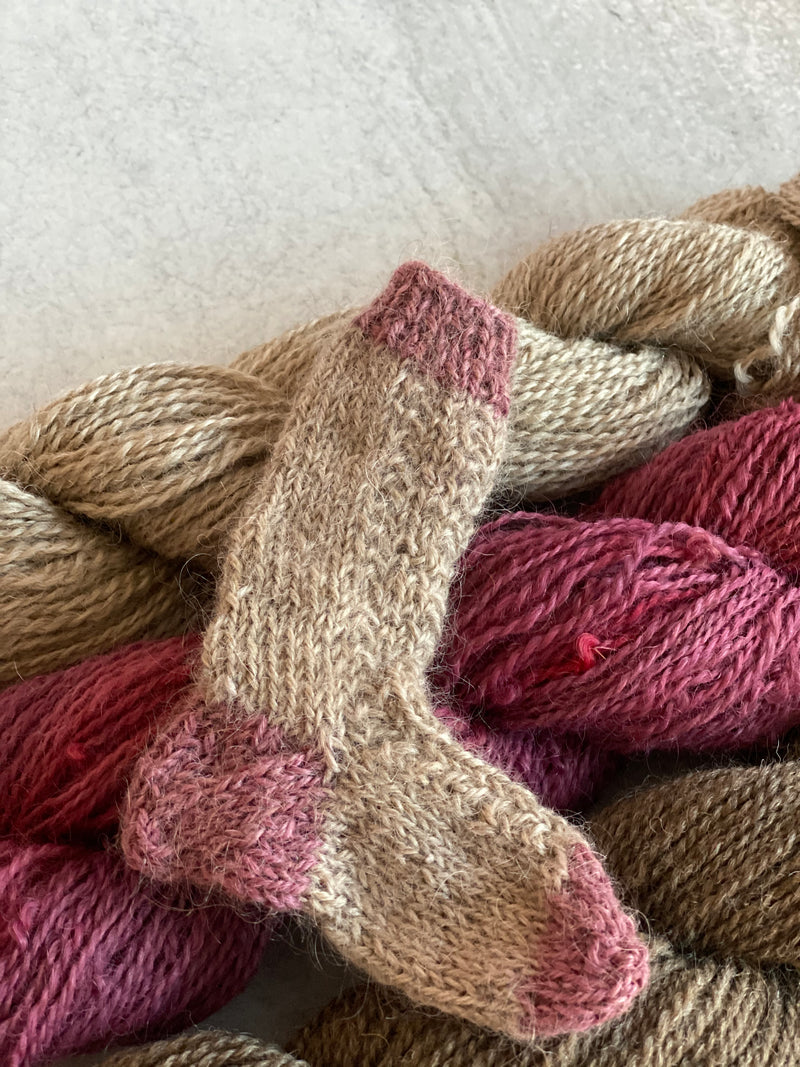 Mindful Folk Farm Yarn: Natural Fawn