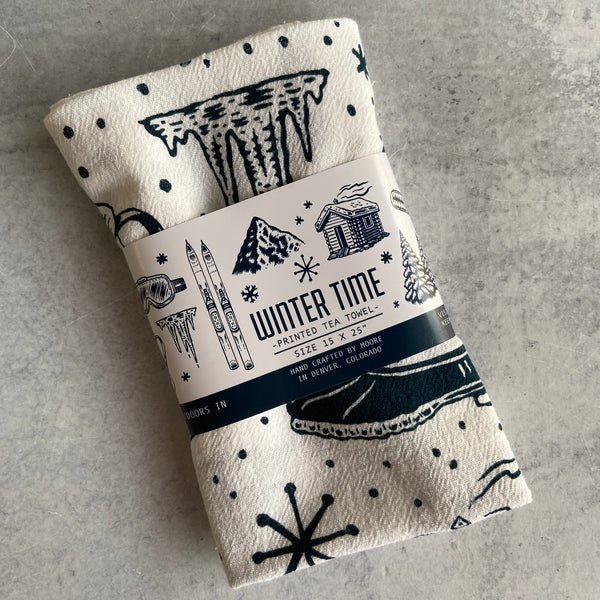 Tea Towel - Winter Time