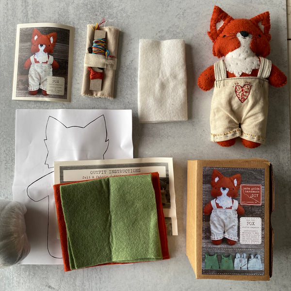 CALM Fox Sewing Kit