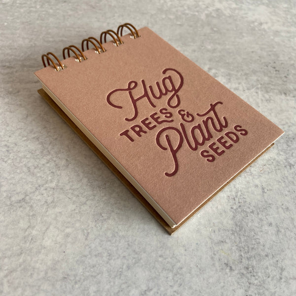 Hug Trees Mini Jotter Notebook