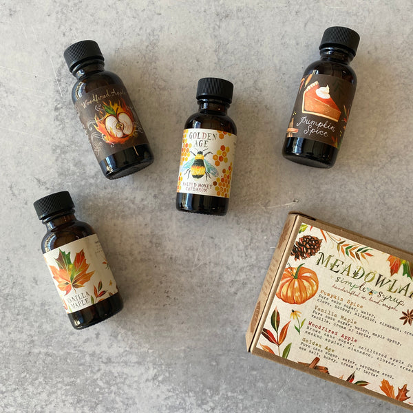 Simple Syrup Sampler: Autumn Sun Collection
