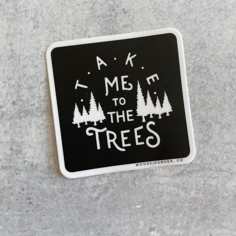 Sticker - The Trees