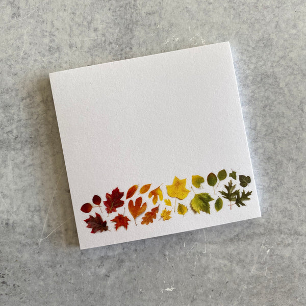 Sticky Notes - Autumn Leaves