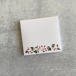 Sticky Notes - Rose Hips Flourish