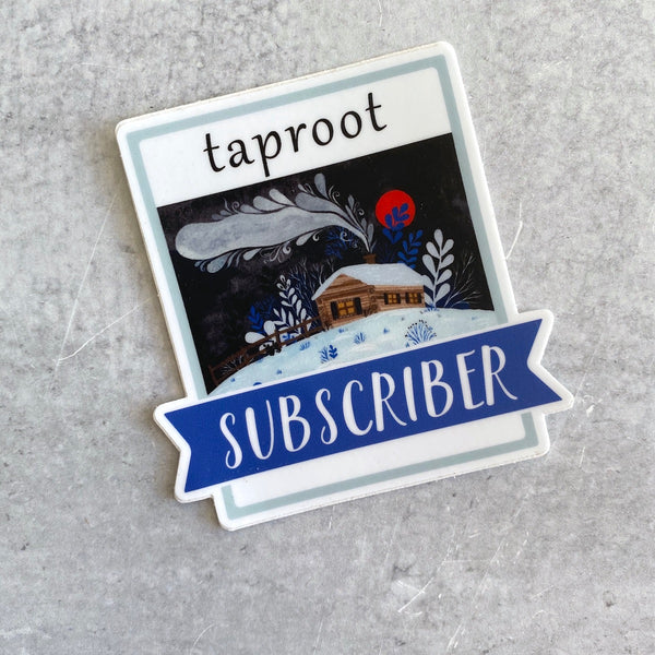 Sticker - Taproot Subscriber