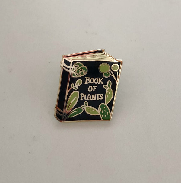 Lapel Pin - Book of Plants