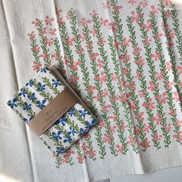 Tea Towel - Floral Vine