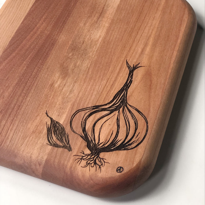 Cutting Board - Garlic