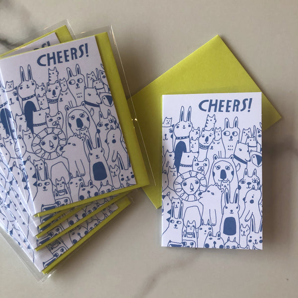 Cheers Mini Card Set