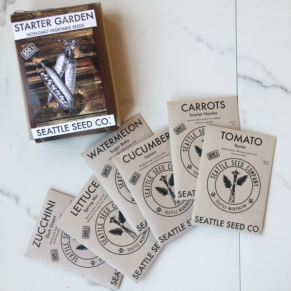 Organic Seed Collection - Starter Garden