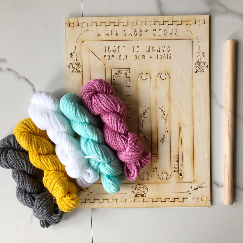 Weaving Kit: DIY Tapestry
