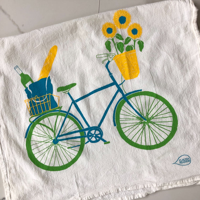 Tea Towel - Bicycle