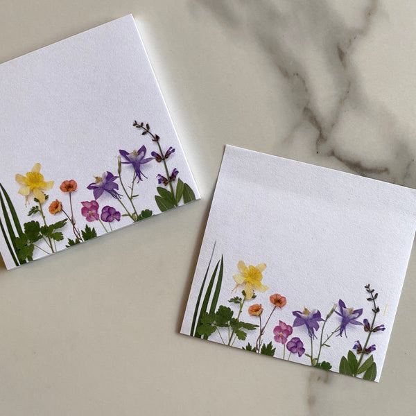 Sticky Notes - Spring Flowers