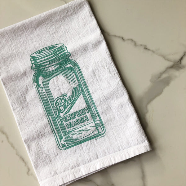 Tea Towel - Mason Jar
