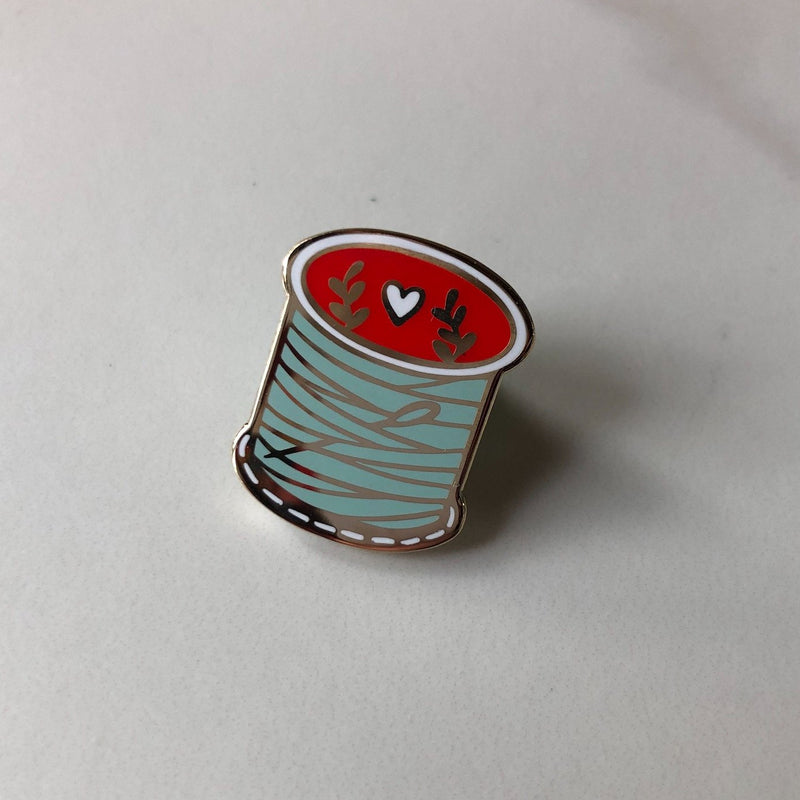 Lapel Pin - Spool of Thread