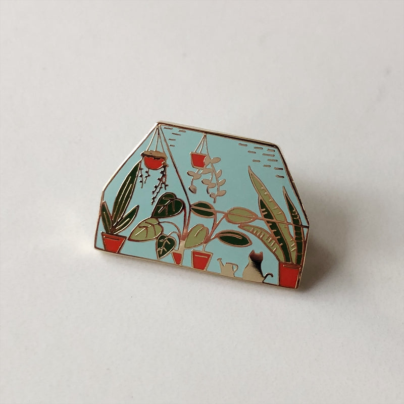 Lapel Pin - Greenhouse