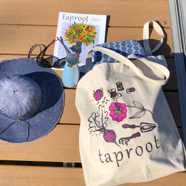 Taproot Large Tote Bag
