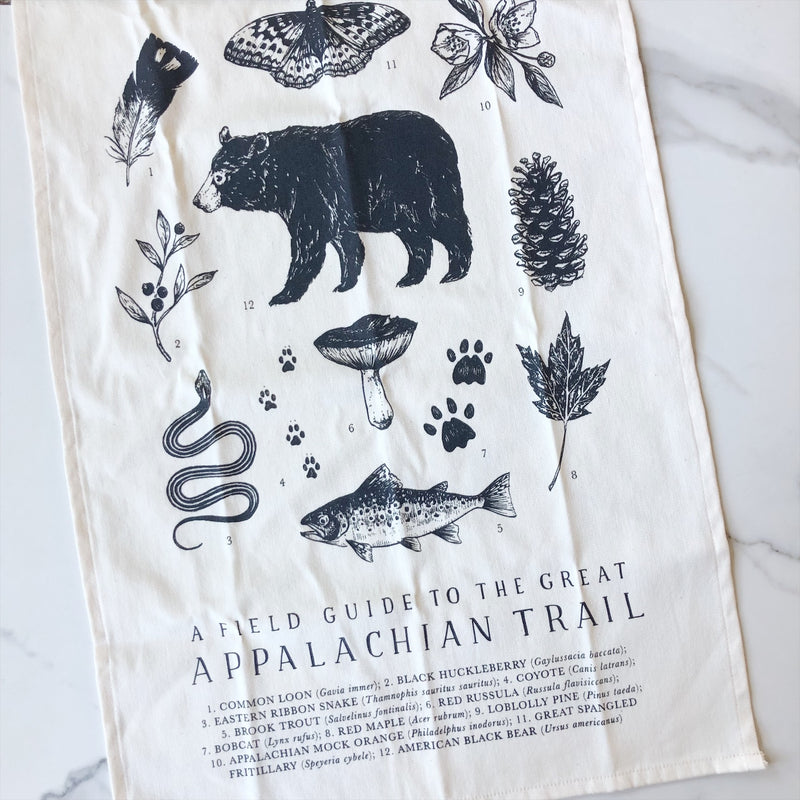 Tea Towel - Appalachian Trail