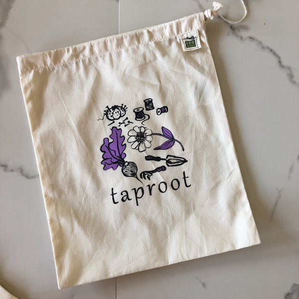 Taproot Produce & Craft Bag ~ Purple