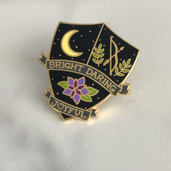 Lapel Pin - Moon Goddess