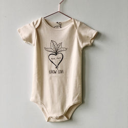 Grow Love Radish Onesie