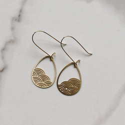 Raindrop Cloud Earrings