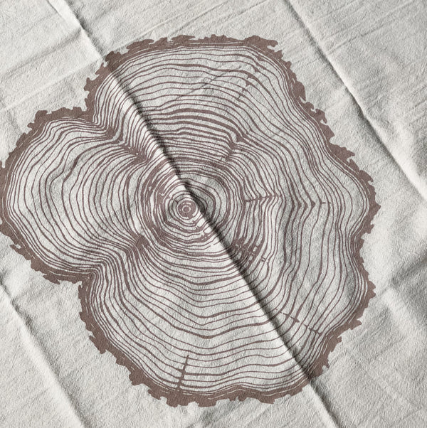 Tea Towel - Tree Ring