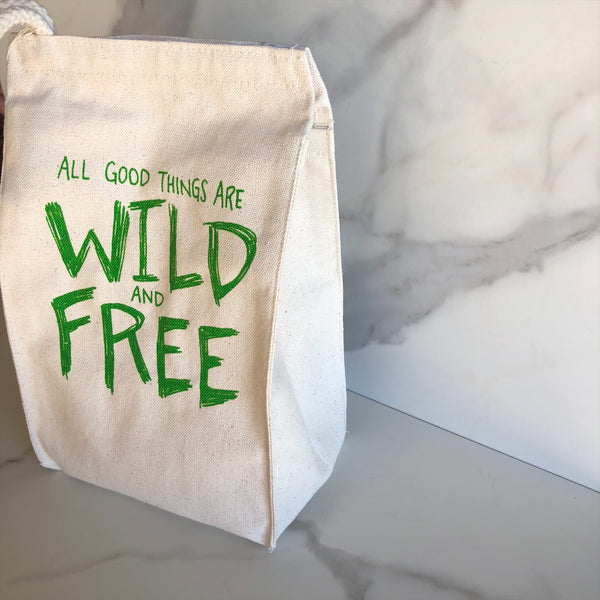 Lunch Bag ~ Wild and Free