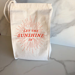 Lunch Bag ~ Let the Sunshine In