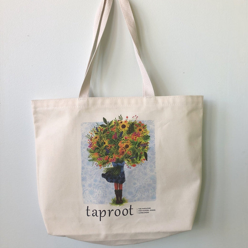 Taproot BLOOM Tote Bag
