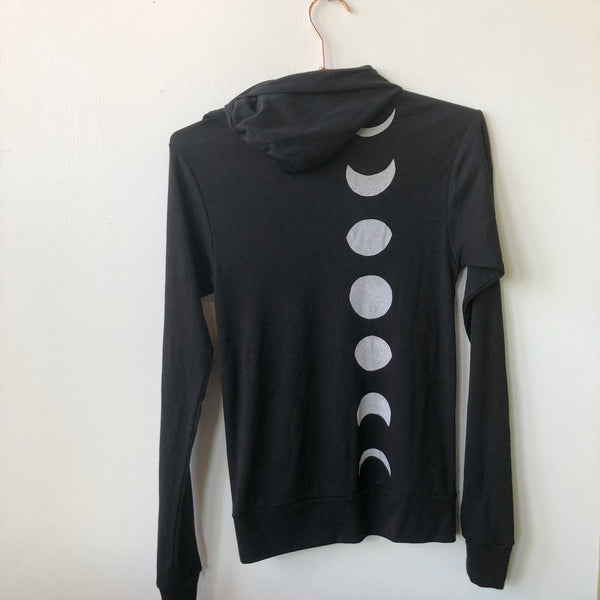 Moon Phase Lightweight Hoodie - XS