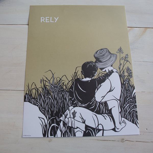Rely - Poster Print