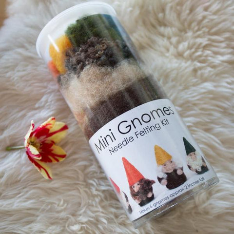 Needle Felting Kit: Mini Gnome