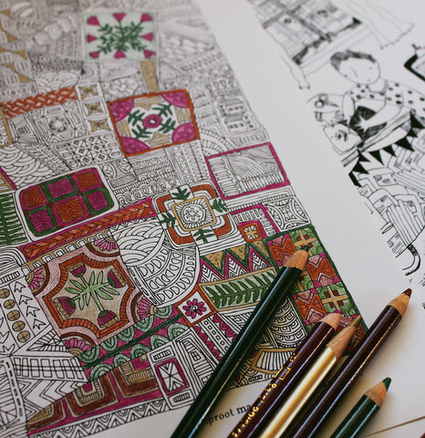 SHARE Coloring Pages