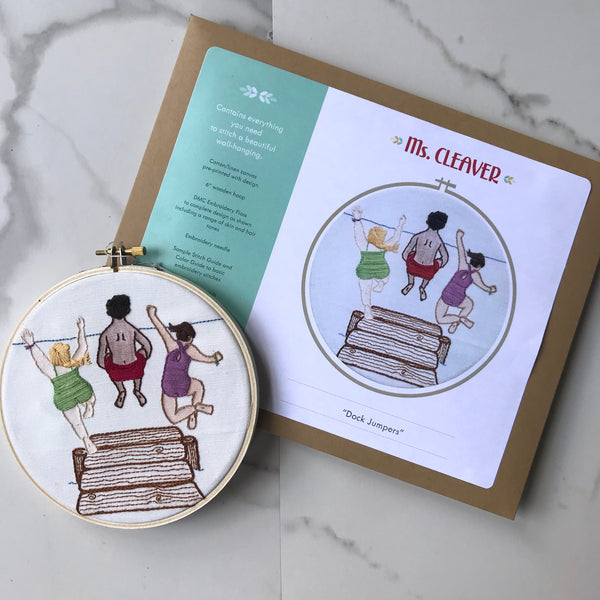 Embroidery Kit - Dock Jumpers